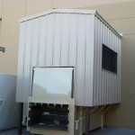 Owens and Minor compactor enclosure
